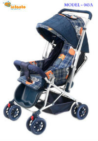 Baby Dyna Pram Deluxe With reversible Handle