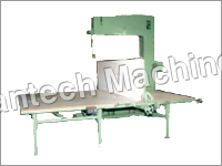 Vertical Cutting Machine For Polyurethanes