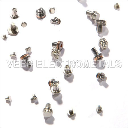 Solid Tungsten Contact Rivets