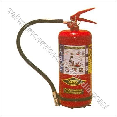 Clean Agents Fire Extinguishers