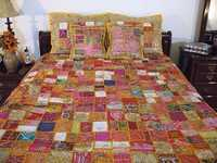 Ethnic Bedcovers with Pillows