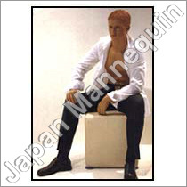 Sitting Male Mannequin