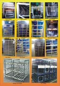 Material Handling Metal Racks