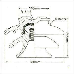 22 Kv Pin Type Insulator