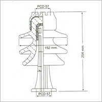 11 Kv High Tension Post Insulator