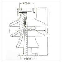 22 Kv High Tension Post Insulator