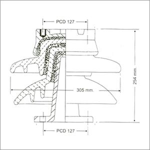 22 Kv Post Insulator