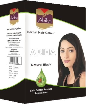 Herbal Black Hair Color 25 Gms