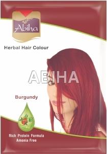 Abiha Herbal Burgundy Hair Color - 25 gms