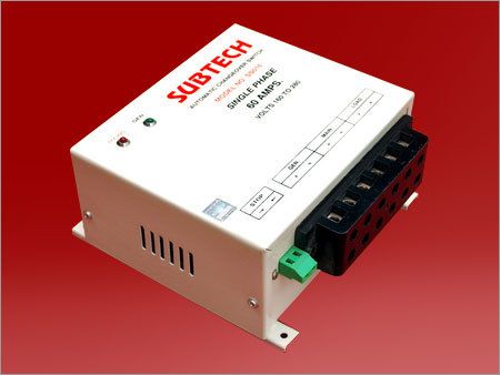 Single Phase Automatic Changeover Switches