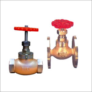 Bronze Globe Steam Stop Valves