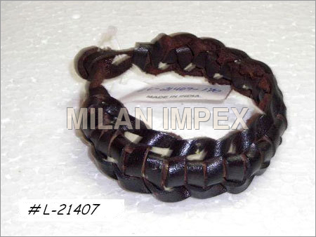 Mens Braided Leather Bracelets