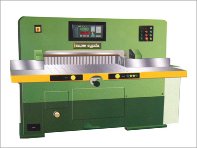 Hydraulic Fully Automatic Paper Cutting Machine