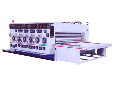 PRINTER SLOTTER COMBINED MACHINE