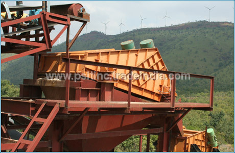Iron ore Washing & Dewatering Screen