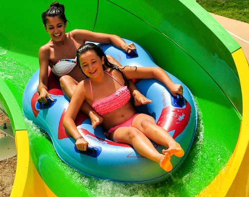 Family water slides