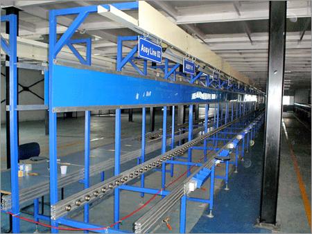 Push Type Glide Wheel Conveyors