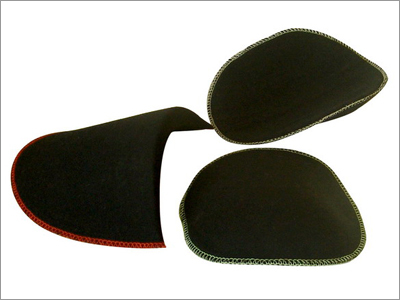 Foam Shoulder Pads Covered With Fabric
