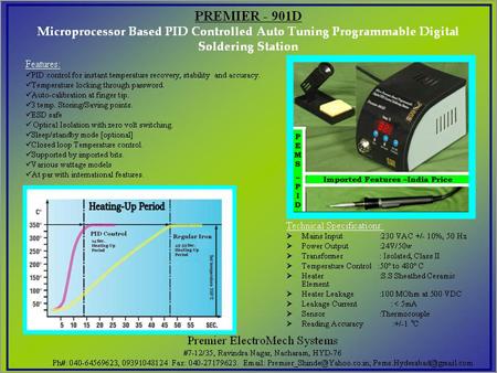 Programmable Digital Soldering Station