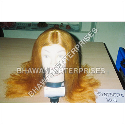 Synthetic Fibre Full Lace Wig