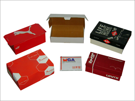 Packaging Shoe Boxes