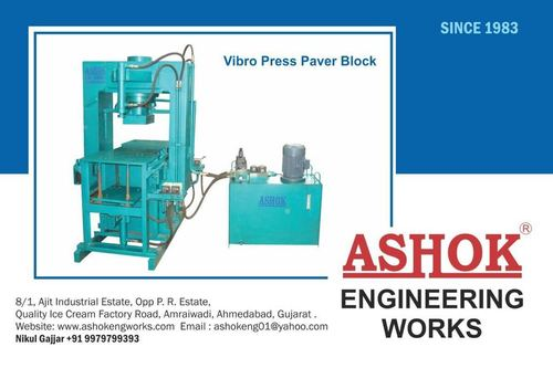 Hydraulic Press Paver Block