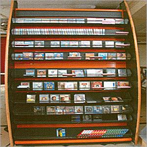 Audio & CD Display Racks