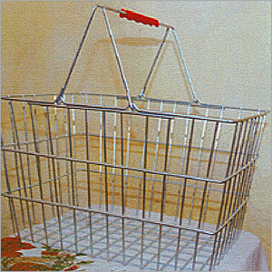 Steel Shopping Basket