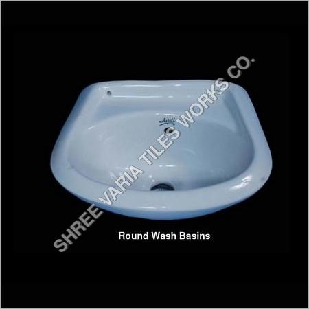 Round Wash Basins