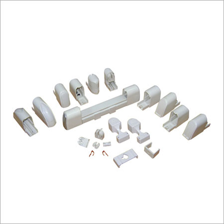 Plastic Tube Light Parts