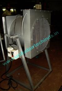 Industrial Hot Air Pedestal Fan