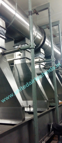 DRYING SYSTEM FOR CONVEYOR BELT