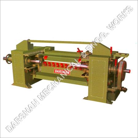 Mechanical Simple Chain Drive Veneer Lathe