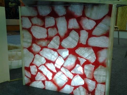 semi precious slabs stone