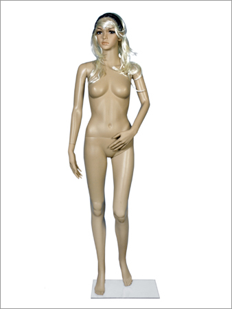 Realistic Plastic Full Body Female Mannequins