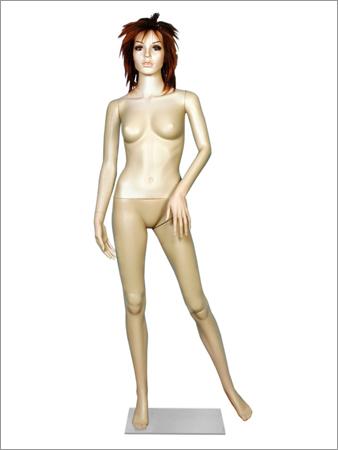 Realistic Plastic Full Body Display Mannequins