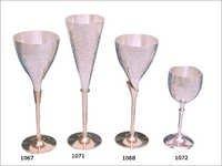 Brass Champagne Glasses