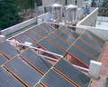 Industrial Solar Water Heating system