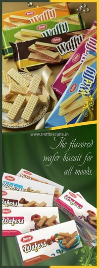Flavoured Cream Wafers