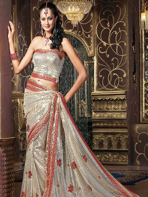 Partywear sarees