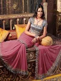 Ladies Embroidered Saree