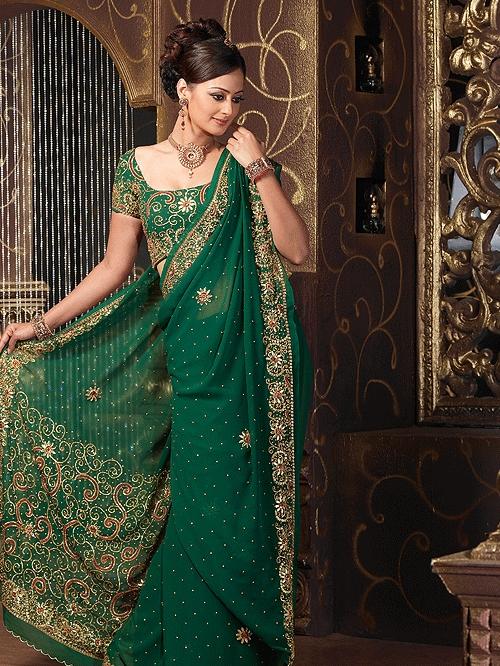 Partywear Designer Saree