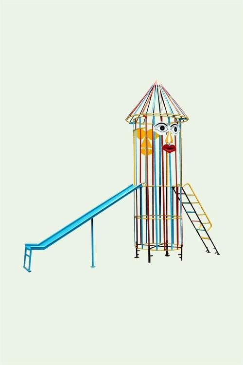Kids Rocket Slide