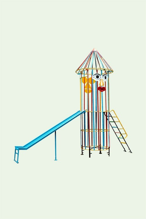 Kids Rocket Slide