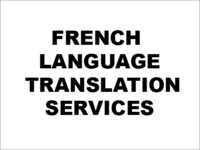 French Language Translation