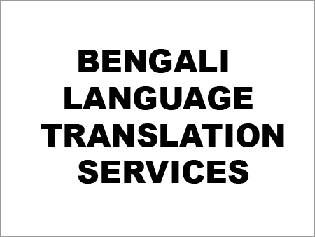 Bengali Language Translation Services