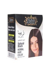 Zeba Natural Black Herbal Hair Colour
