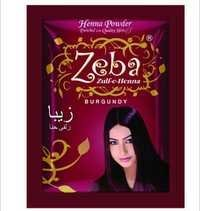 Zeba Burgundy Henna Powder