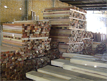 Meranti Cut Beams