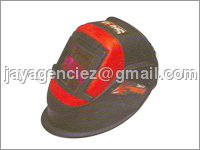 Auto Darkening Screen with Helmet